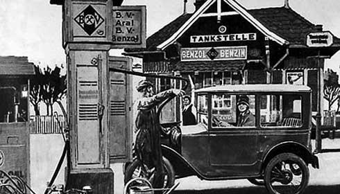 Моторные масла. История создания Арал.1926