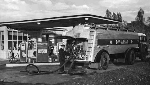 Моторные масла. История создания Арал. 1955