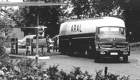 Моторные масла. История создания Арал. 1962