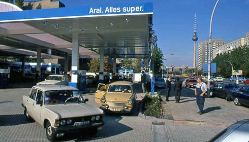 Моторные масла. История создания Арал. 1990